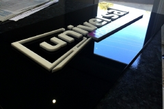 3D Extruding Sign