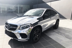 Mercedes AMG GLE43 Chrome Wrap