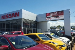 Cleveland Nissan - Integrated LED Sign