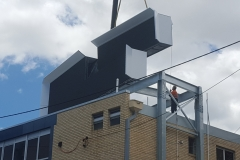 Lutwyche Road LED Sign - install