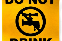 Sticker - Do not drink