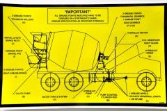vehicle diagram sticker