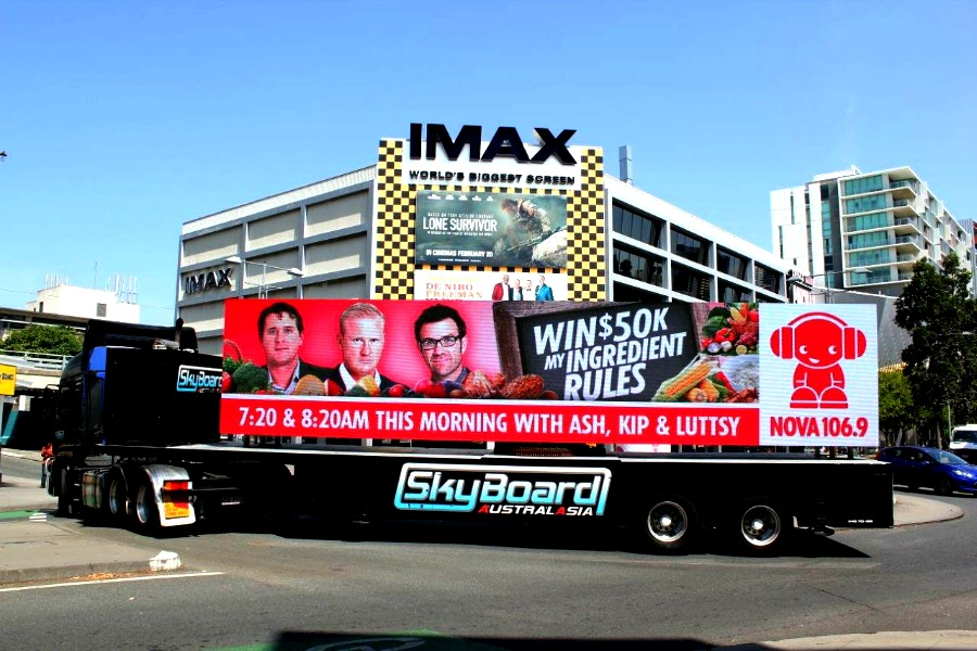 LED Signage Brisbane Skyboard Billboards Live Telecast Event Screens