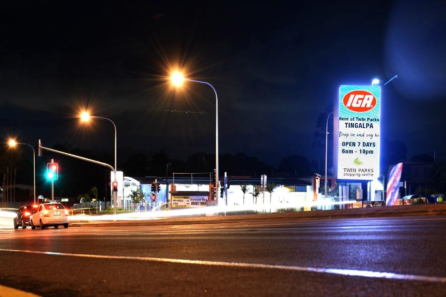 LED Signage Brisbane SS Signs Skreenkraft Leaders in LED Signs