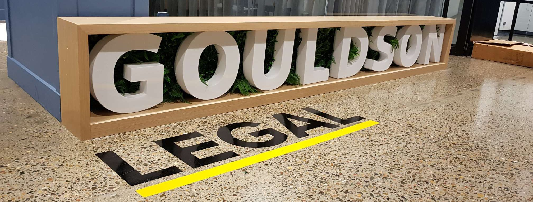 3D Extrusion Signs