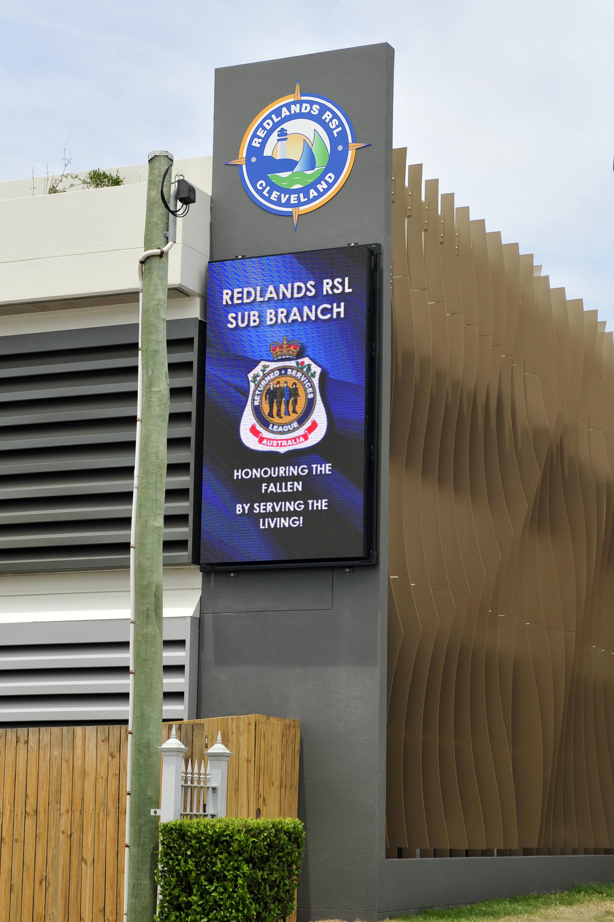 Redlands RSL LED Sign
